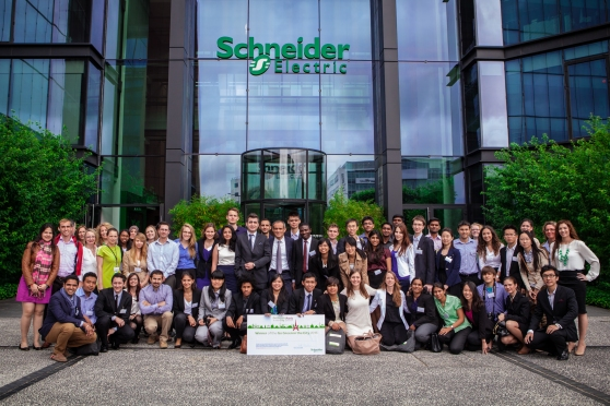 Go Green in the City 2013 Top 25 Teams with Jean Pascal Tricoire, President & CEO of Schneider Electric